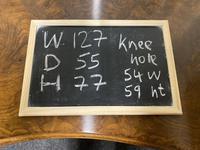 Kidney Shaped Burr Walnut Dressing Table (10 of 10)