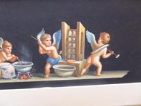 Watercolour Mischievous Putti Listed Artist E P Fenderico (10 of 14)