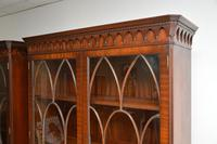 Pair of Antique Georgian Style Mahogany Bookcases (8 of 11)