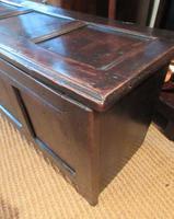George I Period Oak Six Plank Coffer (5 of 10)