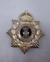 Other Ranks Helmet Plate - 1902-1914 - Alexandra Princess of Wales Own 'Yorkshire Regiment' (2 of 5)