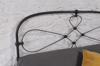 Pleasingly simple Irish iron no end king size (5 of 6)