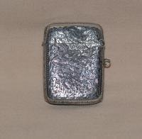 Victorian 1886 John Gammage Solid Birmingham Silver Vesta Case (2 of 4)