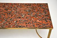 1960's Vintage Italian Brass & Marble Coffee Table (5 of 9)