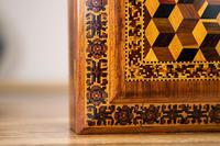 Rosewood Tunbridge Ware Table Box 1880 (8 of 9)