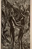 Adam and Eve by Kathleen Mary Bell (3 of 4)