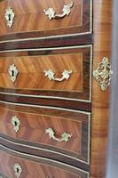 French Tulip and King Wood Ecritoire Writing Cabinet (2 of 8)