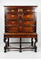 Late 17th Century Oak Chest on Stand