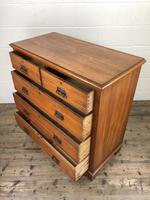 Edwardian Satinwood Chest of Drawers (8 of 10)