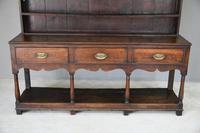 Antique Georgian Oak Dresser (7 of 12)