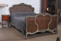 Art Nouveau Style French Caned / Bergere King Size Bed (2 of 9)