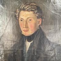 Antique Belgian Flemish Oil Painting Portrait of Polydoor Lippens (6 of 10)