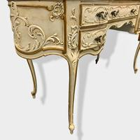 Italian Paint and Cane Dressing Table (6 of 8)