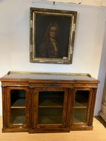 Rosewood Breakfront Bookcase (5 of 15)