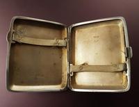 Antique Sterling Silver Cigarette Case - 1932 (3 of 4)