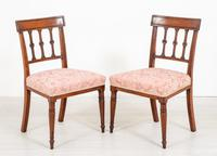 Pretty Pair of Mahogany Regency Side Chairs (4 of 6)