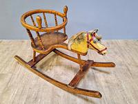 19th Century Childs Rocking Horse (3 of 5)