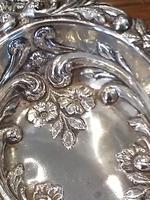 Victorian Silver Pin Dish - Birmingham 1897 (3 of 4)