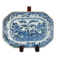 Pair of 18th Century Qianlong Dishes (2 of 8)