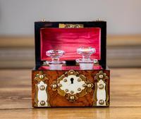 Burr Walnut Perfume Box 1870 (9 of 13)