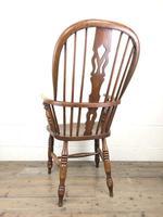 Late Victorian Ash & Elm Windsor Armchair (2 of 7)