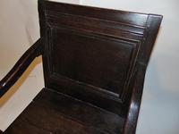 Late 17th Century Oak Wainscot Chair (4 of 11)