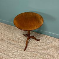 George III Mahogany Antique Occasional Table / Lamp Table (3 of 6)