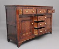 18th Century Country Oak Dresser Base (5 of 11)