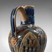 Antique Serving Ewer, English, Ceramic, Decorative, Amphora, Victorian, 1876 (9 of 12)