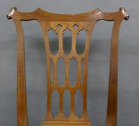 Chippendale Period Cuban Mahogany Side Chair (5 of 6)