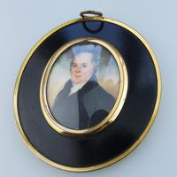 Attributed / After Frederick Buck - Irish Interest - Good Portrait Miniature Painting Early 19th Century (3 of 4)