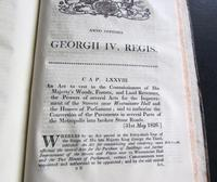 1826 Collection of 79 Government Acts Passed in the Seventh Year of the Reign of His Majesty King George the Fourth (2 of 8)
