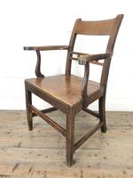 Antique 19th Century Welsh Oak Farmhouse Chair (8 of 10)