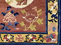 Antique Chinese Ningxia Rug (3 of 9)