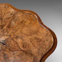 Antique Wine Table, Mahogany, Burr Walnut, Inlay, Side, Marquetry, Regency, 1820 (12 of 12)