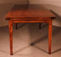 French Extending Table in Cherry Wood 19th Century / Louis XVI Feet (8 of 13)