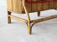 Mid-Century Bamboo Bar attributed to Bonacina (7 of 7)