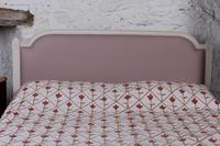 Pretty in Pink Newly Upholstered French King-size Bed (5 of 8)