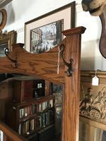 Oak Arts & Crafts / Art Nouveau Hall Stand (18 of 18)