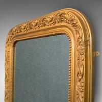 Antique Wall Mirror, English, Gilt Gesso, Neo Classical Revival, Victorian, 1900 (4 of 8)