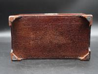 Attractive Chippendale Period Tea Caddy (6 of 6)