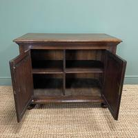 Quality Victorian Solid Oak Antique Cupboard (4 of 7)