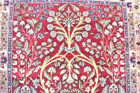 Fine Antique Kirman Rug 201x132cm (4 of 4)