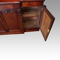 Victorian Mahogany Breakfront Sideboard (7 of 9)