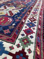Antique Caucasian Talish Long Rug (5 of 10)