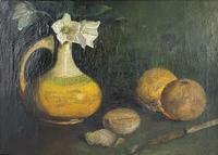 Oil on Canvas of Still Life (2 of 3)