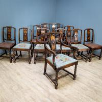 Set of 12 Carver Dining Chairs