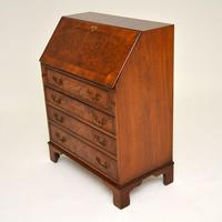 Antique Burr Walnut  Writing  Bureau (9 of 12)