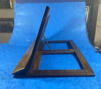 Victorian Italian Sorento Olivewood Book Stand with Micro Mosaic Inlay (6 of 23)