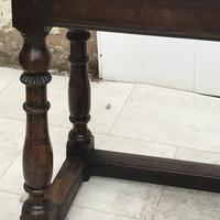 Pair of Oak Coffin Stools Circa Late 17th Century (11 of 24)